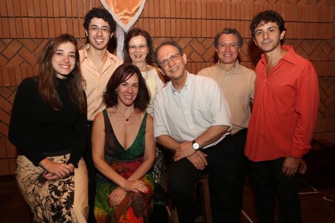 Grupo AUM no Cachuera!, dia 25/11/12, gravação do novo CD