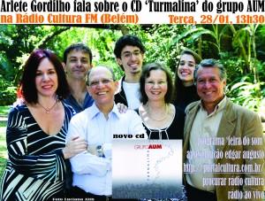 Arlete na Cultura FM Belém